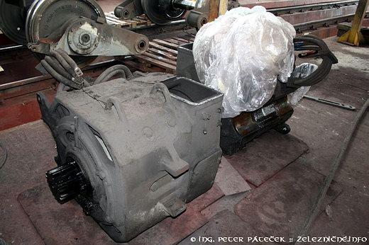 Jednosmerný trakčný elektromotor TE 005E