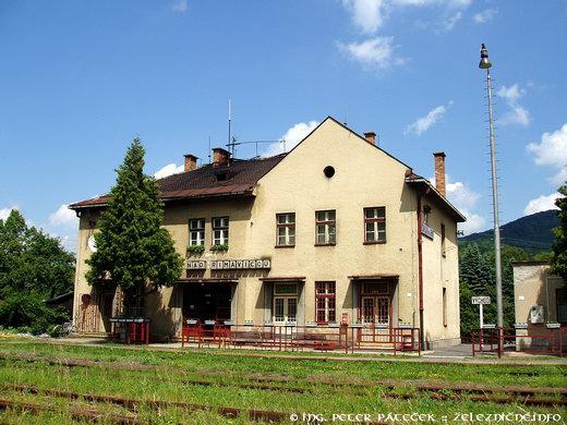 Železničná stanica Kokava nad Rimavicou