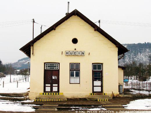 Prvá stanica natrati 165 Hucín