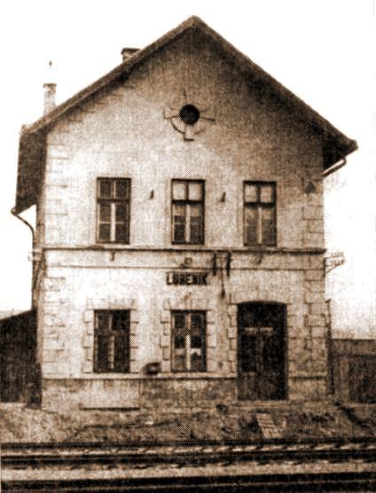 Pôvodná staničná budova vLubeníku