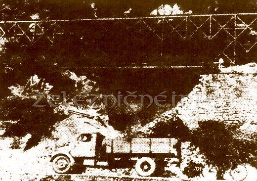 Podmytá trať 165 vroku 1972