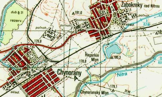 Spojka Chynorany - Žabokreky nad Nitrou