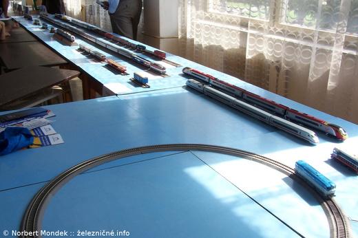 Výstava železničných modelov v mierke H0