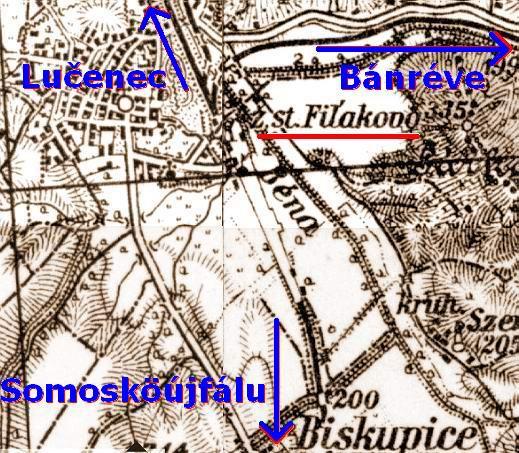 �st. Fi�akovo - old mapa