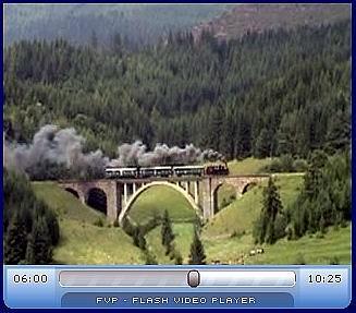 Video - parný vlak vTelgárte