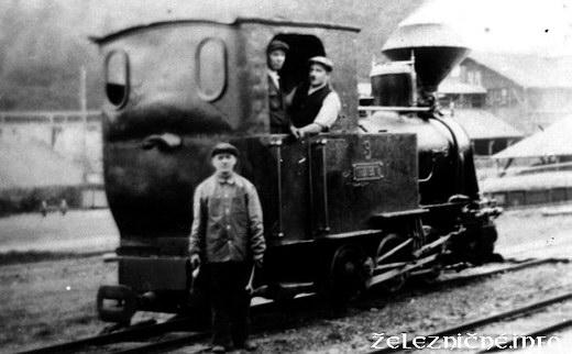 Lesná železnica Kotlina (fotografiu poskytol p. Š. Theis)