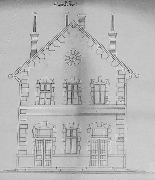 Stavebný plán budovy 3. kategórie