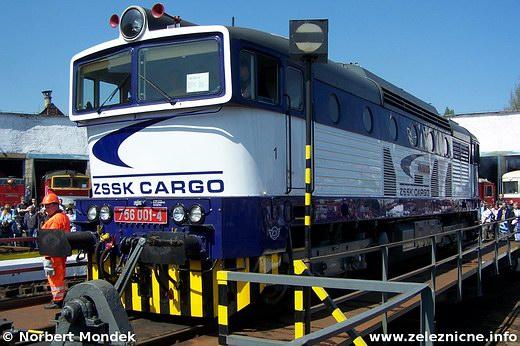 Motorový rušeň 756.001-4  (Cargo)