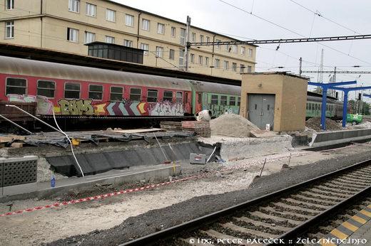Rekonštrukcia 4. nástupišťa - Bratislava hl.st.