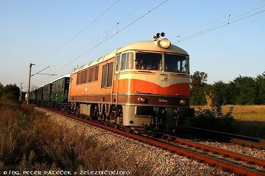 Pomaranč na trati 110
