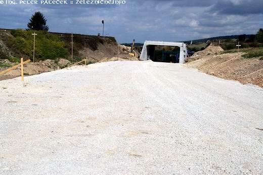 Nový železničný most na trati 145