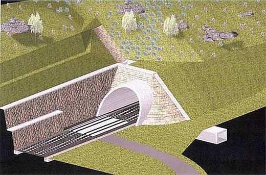 tunel Turecký vrch - © Reming