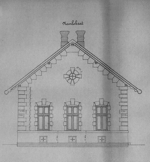 Stavebný plán budovy 4. kategórie