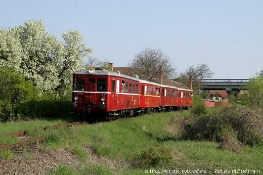 Motorový vlak Medzev - Košice