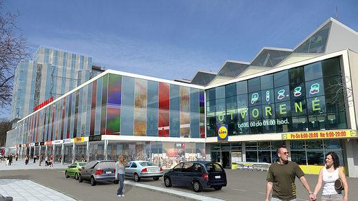 Stanica Košice - vizualizácia