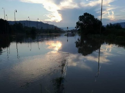 Povodeň v Lubeníku