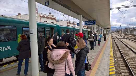 Vlak spoločnosti ARRIVA