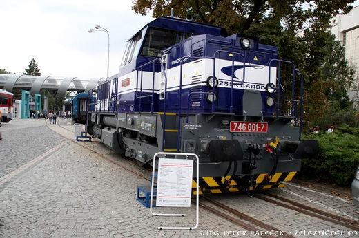 Motorový rušeň 746.001
