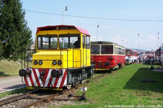 Akumulátorová lokomotíva 199.410 spoločnosti ZSSK