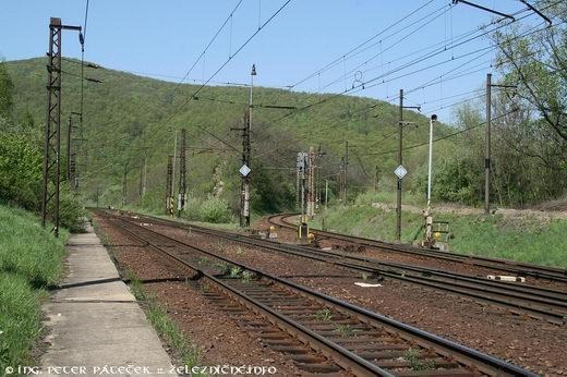 Naľavo trať 180 a napravo trať 188
