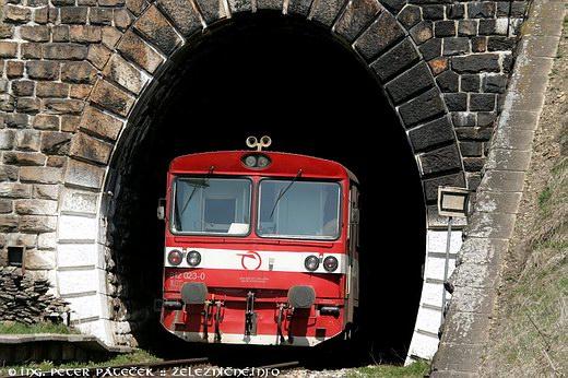 Telgártsky tunel - portál P 1