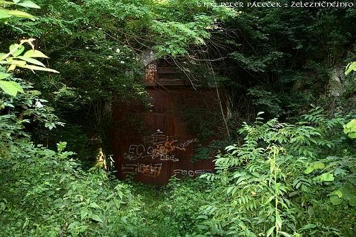 Ťahanovský tunel - pôvodný na KBŽ
