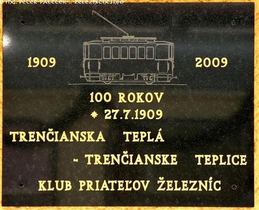 100 rokov TREŽ