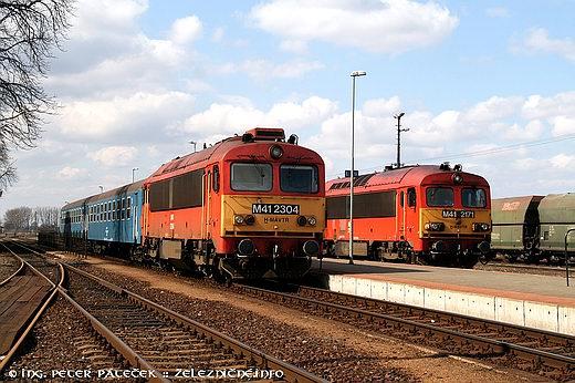 Motorové rušne opäť načelách osobných vlakov