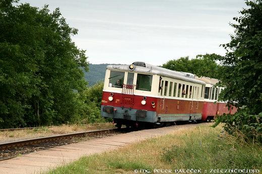 Historický motorový vlak s M 262.007
