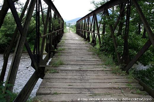 Mníšek nadHnilcom - most úzkokoľajky nadHnilcom