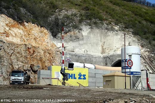 Tunel Turecký vrch – južná strana
