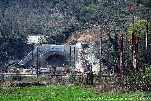 Tunel Turecký vrch – severná strana