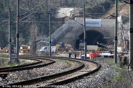 Turecký vrch - tunel