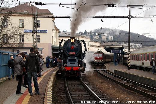 Mimoriadny parný vlak BA-DS