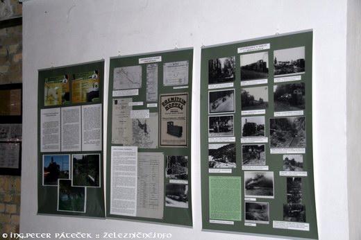 výstava Lesné železnice