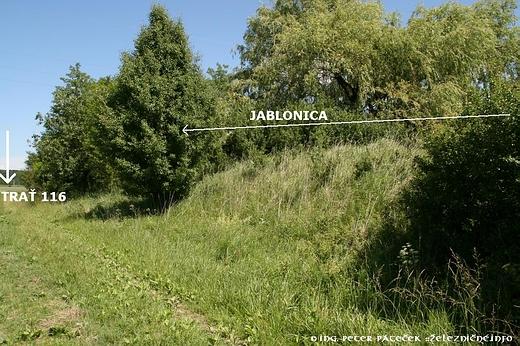 Nedostavaná trať Plavecký Mikuláš - Jablonica