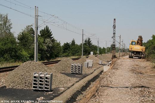 Rekonštrukcia 2. traťovej koľaje