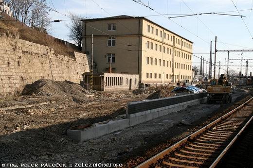 Rekonštrukcia 5. nástupišťa