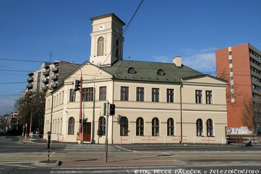 Výpravná budova konskej železnice