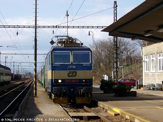 EC 75 Smetana Praha - Wien: ČD 362.168