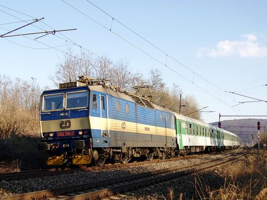 EC 74 Smetana Wien - Praha: ČD 362.168