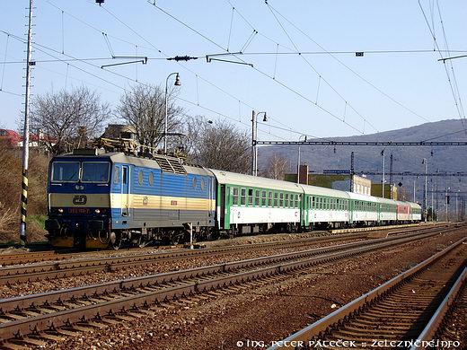 EC 74 Smetana Wien - Praha: ČD 363.168