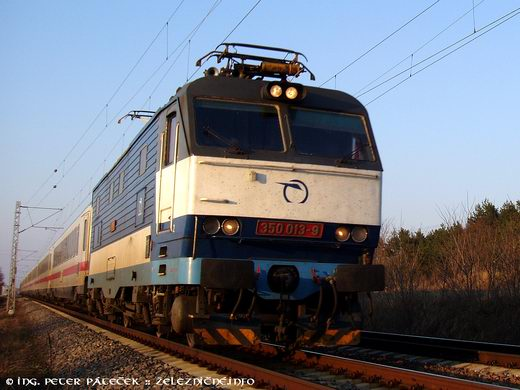 EC 173 Vindobona Berlin - Wien: ZSSK 350.013