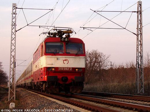 EC 173 Vindobona Berlin - Wien: ZSSK 350.002