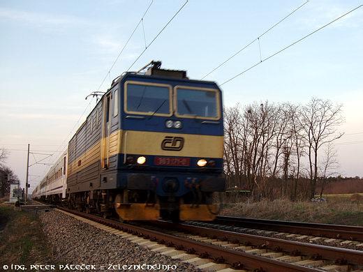 EC 105 Sobieski Warszawa - Wien