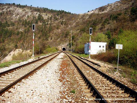 Výhybňa Tunel