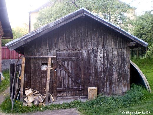 Prakovce - drevený sklad