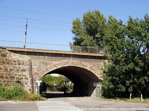 Pôvodný most nad Račianskou ulicou
