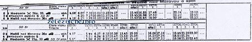 Cestovný poriadok z roku 1974-75