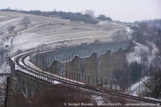 Najdlhší Hanušovský viadukt z môjho pôvodného fotofleku
